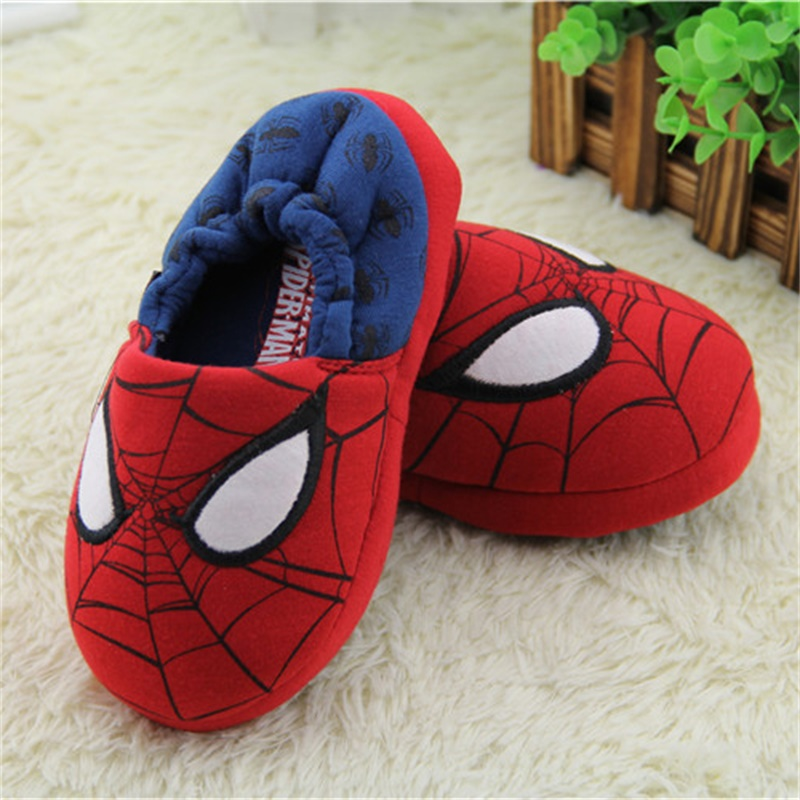 2017 new spring High-quality Warm Soft indoor man woman floor Slippers for boy girls kids cartoon Shoes children autumn gifts(China (Mainland))