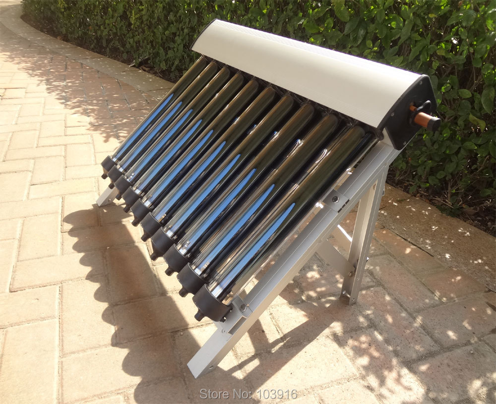 1 set of Solar Collector of Solar Hot Water Heater, 10 Evacuated Tubes, Heat Pipe Vacuum Tubes, new(China (Mainland))
