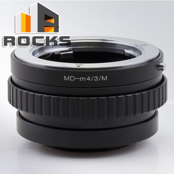 Pixco Adjustable Focusing Macro Infinity Helicoid Tube Suit Minolta MD Lens Micro Four Third 4/3 Camera