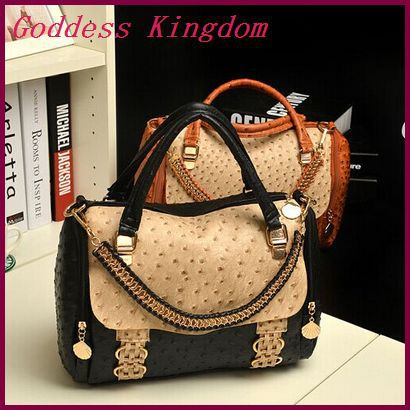 Spring new arrival 2014 women handbags pu leather shoulder bags fashion ostrich cross-body bags for women A7124<br><br>Aliexpress