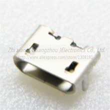 20pcs lot M504 Micro usb jack connector 5pin flapper Mike female socket USB socket