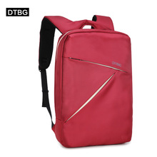 For 15inch notbook computer Korean fashion business casual computer bag USB charging function computer bag student bag(China (Mainland))