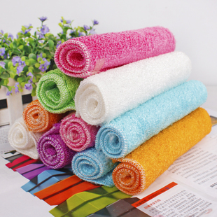 Japanese bamboo fiber towel superfine cloth lint-free dish towel absorbent non-stick oil scouring cloth towel Cleaning(China (Mainland))