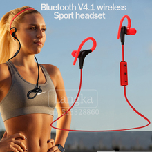 Wireless Bluetooth Headphone Bluetooth V4.1 Stereo Sports Running Earphone Handsfree In-ear Headset With Mic For iphone Samsung