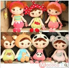 New Arrival 2015 20cm & 46cm kid Lovely Stuffed Cloth Doll Metoo Plush Toy Rabbit Doll For Baby Gifts Drop Shipping(China (Mainland))