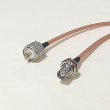 Увч вилочная часть вилка коннектор переключатель байонетный разъём женское джек коннектор RG142 50 см 20 » адаптер низкая — ослабление