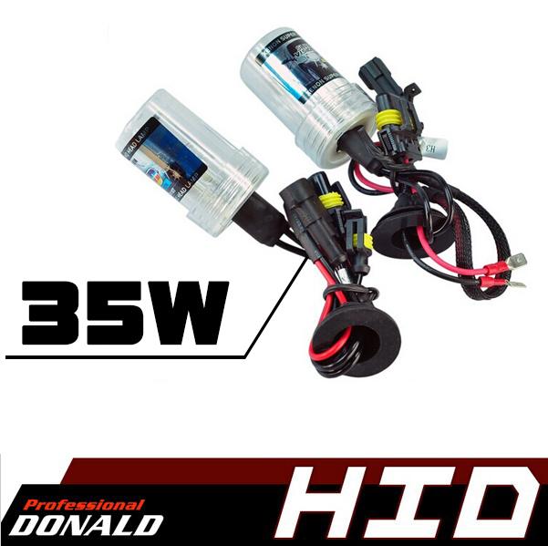 2PCS AC 12V 35W H1 H3 H7 H8/H9/H11 9005 HB3 9006 HB4 880/881 Globes Bulb Headlights Xenon HID Conversion Lamps 3000K~30000K(China (Mainland))