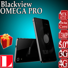 Activity Discount Original Blackview OMEGA PRO 4G LTE mobile phone MTK6753 64 bit Octa Core Android 5.1 3GB RAM 16GB ROM 13.0MP(China (Mainland))