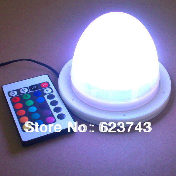Bulblite cordless rechargeable RGB LED lighting system for furniture Waterproof rechargeable battery RGB led driver free