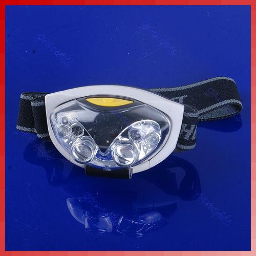 Гаджет  S111 Free Shipping Bright 6 LED Head Lamp Light Torch Headlamp Headlight 3 Modes New None Свет и освещение