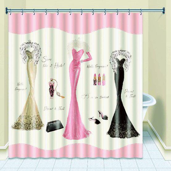 achetez en gros rideau de douche fil en ligne des grossistes rideau de douche fil chinois. Black Bedroom Furniture Sets. Home Design Ideas