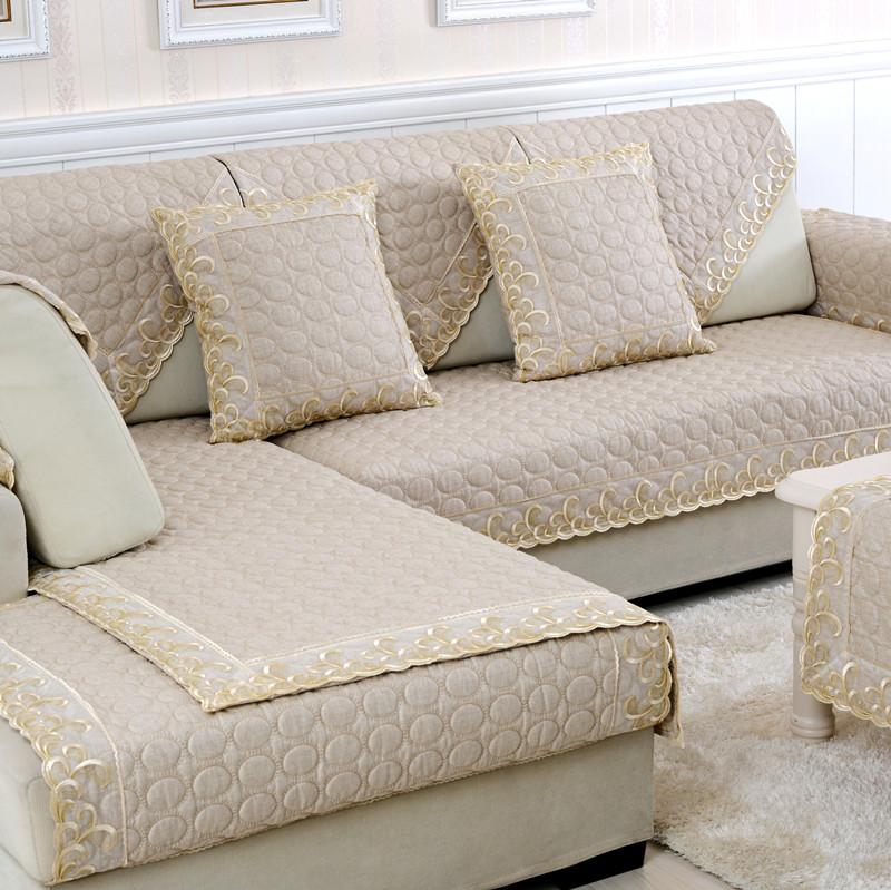 Fashion Linen Sofa Towel Four Seasons Fluid Leather Sofa