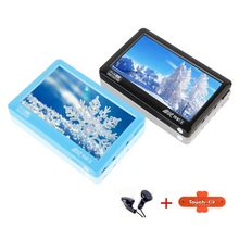 HD Touch Screen 8gb MP4 MP5 Player With Speaker Av Out Game E-Book 5 Inch MP4 MP5 Player FM Radio MP4 Recorder Mini Music Player