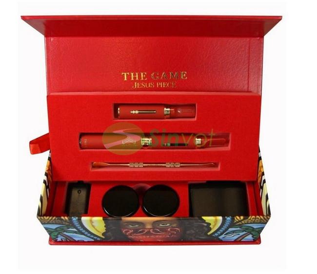 5set/много игры Вапоризатор - Красный Иисуса кусок эфирных масел личный vape ручка комплект