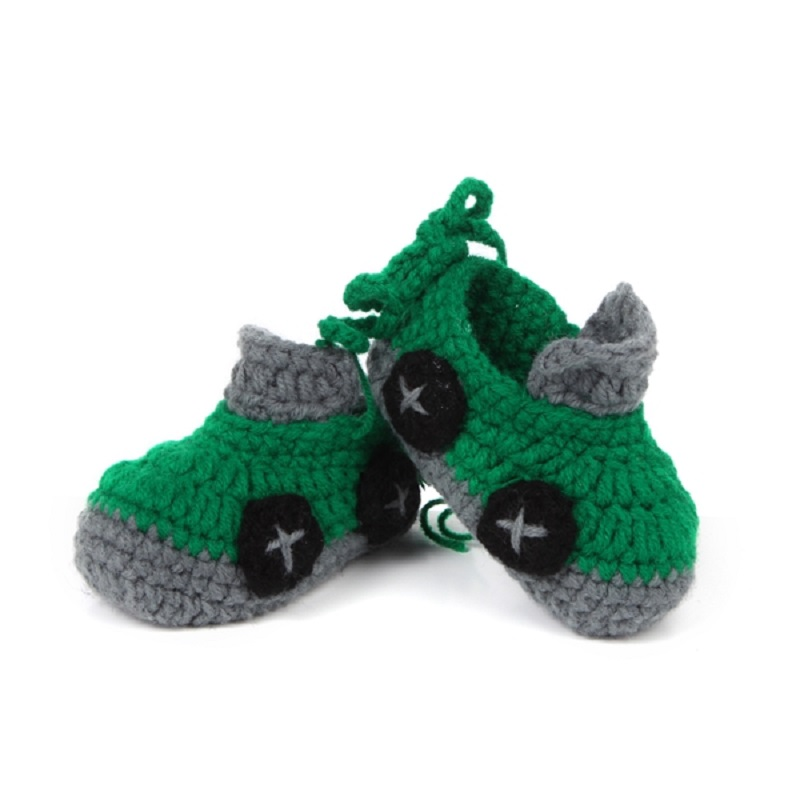 Crochet Baby Shoe Sole Pattern