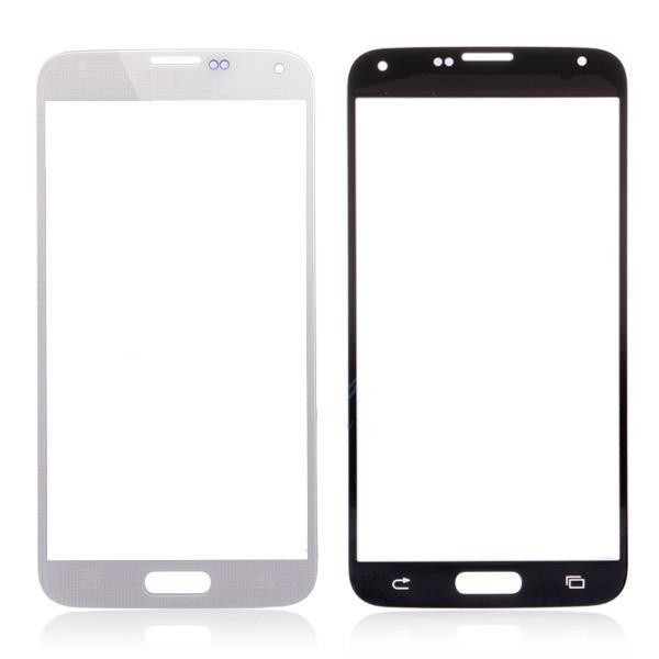 OEM Front Glass Screen for Samsung Galaxy S5 i9600 G900 Free Shipping with logo(China (Mainland))