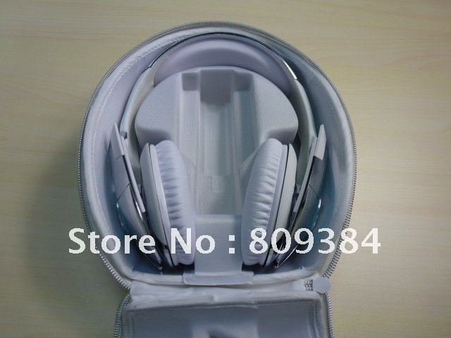 BEST QUALITY white/black tron T1 headphone game headset for iphone 4s with mic and control talk FREE SHIPPING DHL/EMS