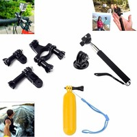 GoPro Accessories Family Kit Go Pro SJ4000 SJ5000 SJ6000 Accessories Set Package For GoPro HD Hero 1 2 3 3+ 4 Xiaoyi