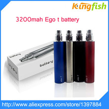 High quality 3200mAh ego t battery  E Cigarette Battery eGo Twist Variable Voltage 3.2V-4.2V electronic Cigarette Battery ecig