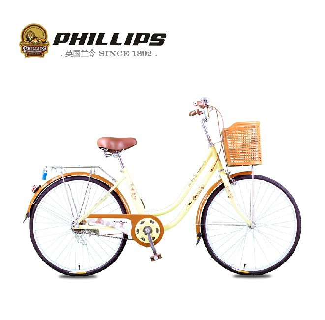 Free Shipping 2014 New Women 24 inch bike portable lady bikes portable bicycles with basket bells TMSNZ-2401(China (Mainland))