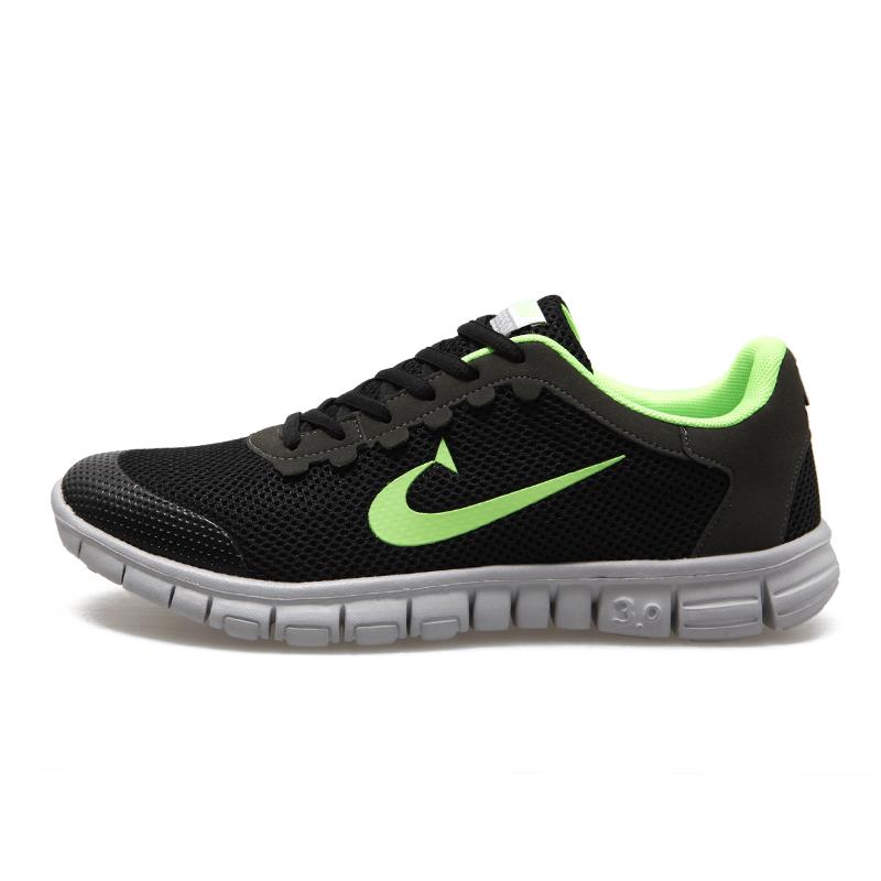 2016 Men & Women Casual Shoes Fashion Breathable Men Shoes Lace Up Gray Black Flat Shoes Women Plus Size 36-48 xx23(China (Mainland))