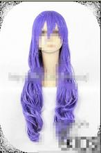 Wholesale& heat resistant LY free shipping>>> SHERYL COSPLAY Purple Curly Wig