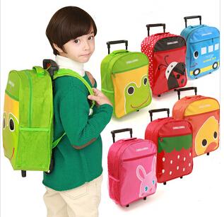 children's school bags trolley shoulder bag cute baby cartoon backpack schoolbag animal models es128 - and shoes store
