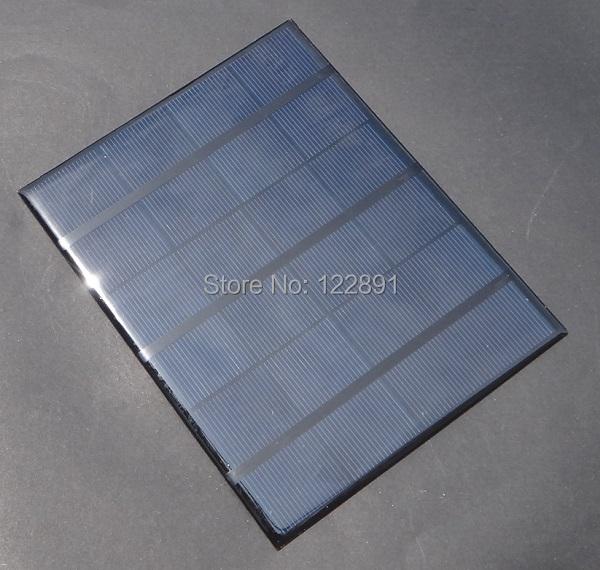 High Quality 3.5W 6V Min Solar Cell Solar Panel Solar Module Diy Solar Charger Solar System 165*135*3MM New(China (Mainland))