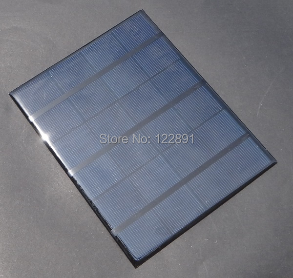 High Quality 3.5W 6V Min Solar Cell Solar Panel Solar Module Diy Solar Charger Solar System 165*135*3MM New(China (Mainland))