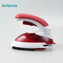 Hot Portable Electric Mini Clothes Steam Iron With 180 Degree Rotatable For Home Travel Handheld Garment Steamer Brush(China (Mainland))