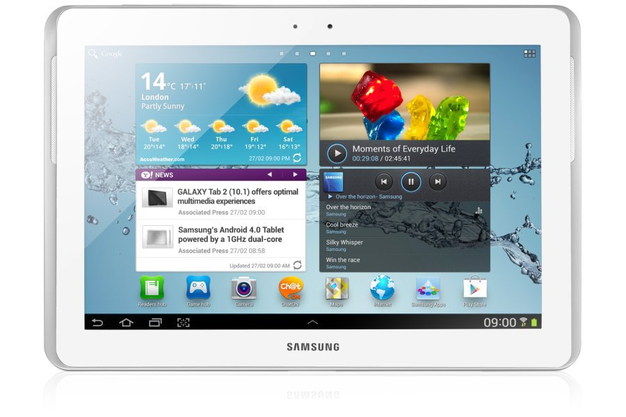 10.1-inch original samsung galaxy tab 2 P5110 Android 4.1 tablets 1280x800 Dual-core GPS WIFI tablet PC 7000mAh(China (Mainland))
