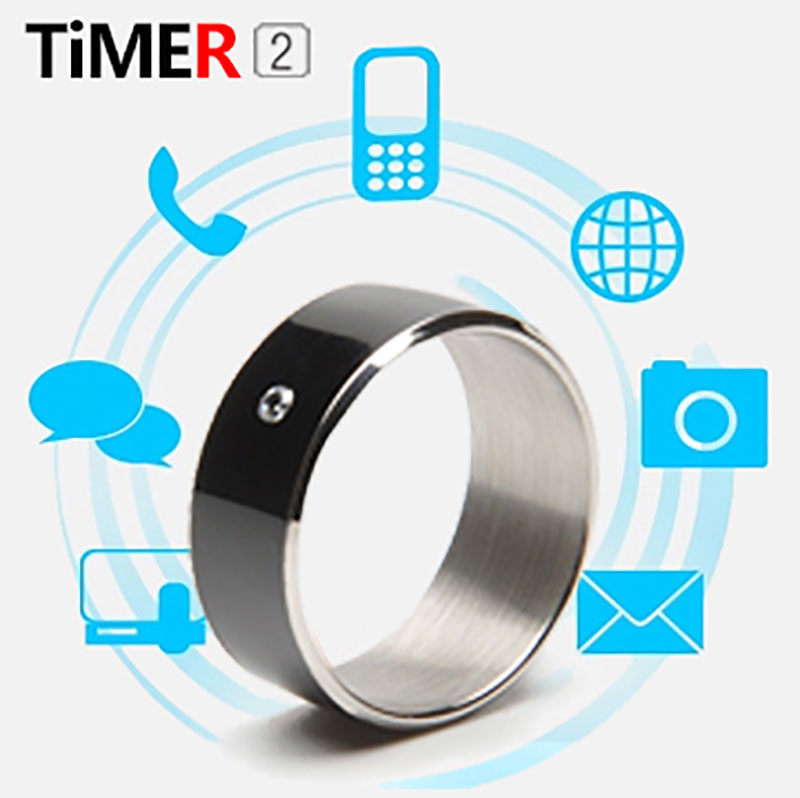 2015 Fashion For NFC Timer Android WP Mobile Phones Wearable Device Multifunction Magic Round Smart Rings For Samsung Iphone(China (Mainland))