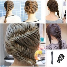 Buy French Hair Braiding Tool Braider Roller Magic Hair Twist Styling Bun Maker Hair Band DIY Tool Hair Accessories HW155 for $1.20 in AliExpress store
