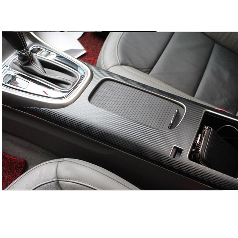 Car styling Car Central Armrest Box Sticker For Chevrolet Malibu 2013 2014 Accessories 1pc Carbon Fiber(China (Mainland))