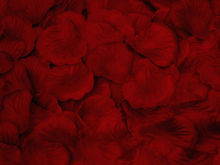New 2015 free shipping Wholesale 100pcs/lot Wedding Decorations Fashion Atificial Flowers Polyester Wedding Rose Petals patal(China (Mainland))