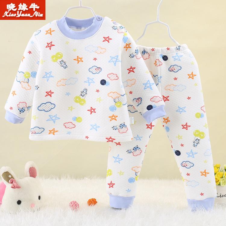 Baby Warm Clothing Set Roupa Infantil Baby Shoulder  Infant Boy Girl Clothes Kids Clothing Set 3pcs/lot yerf15<br><br>Aliexpress