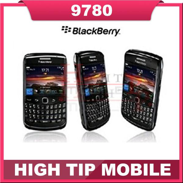 Refurbished 9780 Original Blackberry Bold 9780 Cell Phone 3G GPS Free Shipping(China (Mainland))