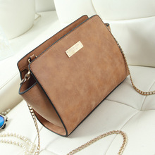NATHAN Hot Sale Designer Handbags High Quality Pu Leather Women Small Shoulder Bag With Chains For Ladies Daily Life(China (Mainland))