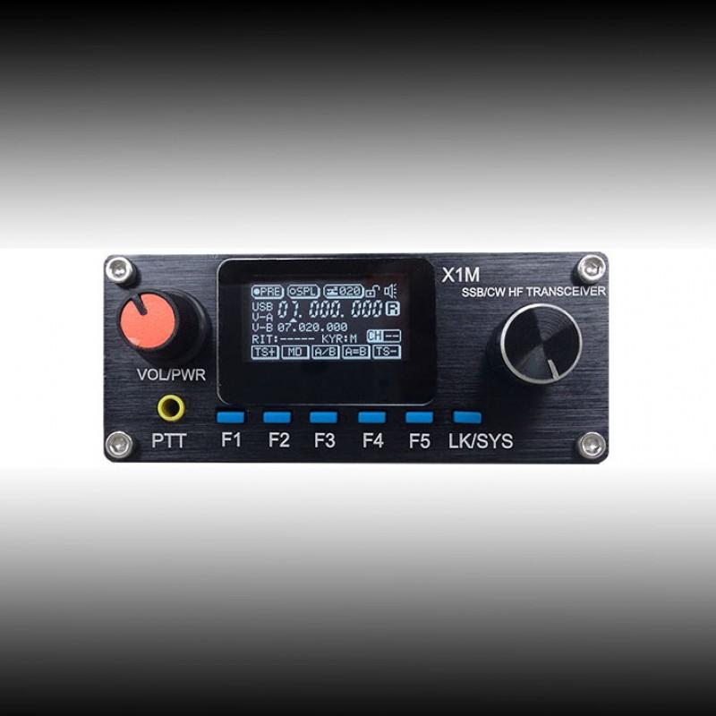 XIEGU X1M SSB/CW 0.5-30MHz HF Transceiver Platinum Edition 3.01b QRP HF SSB CW Amateur Ham Radio(China (Mainland))