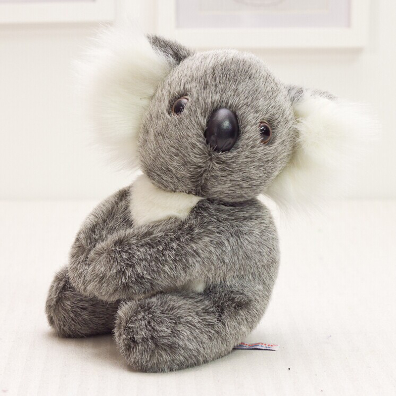 Cute plush toys 13cm super Meng Q version koala koala plush doll children's birthday gift given to children(China (Mainland))