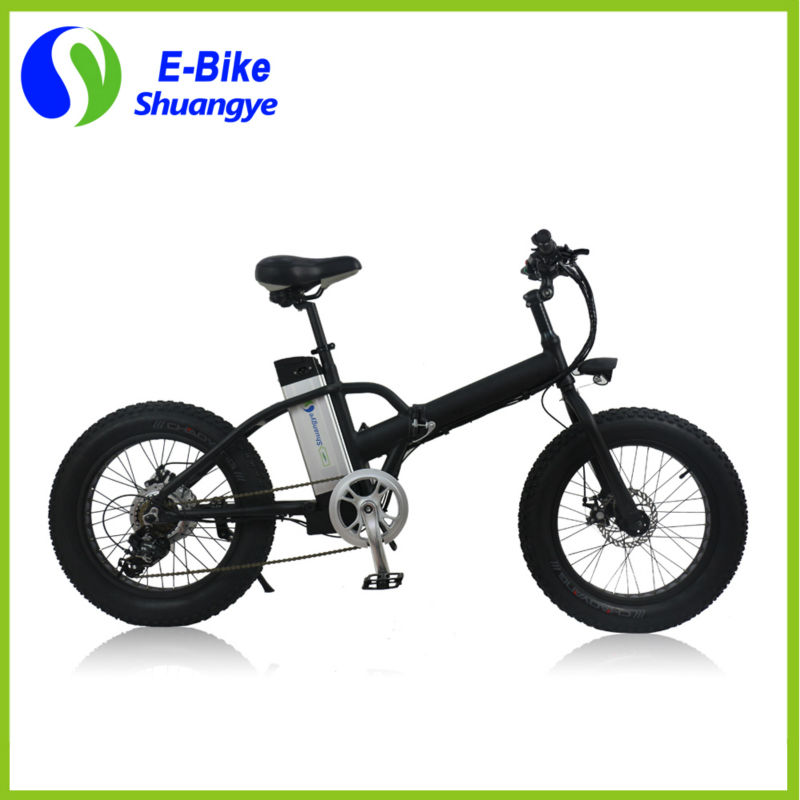 Power Bicycle with smart LCD meter folding fat tyre 350W brushless motor fatbike 20inch fast mini Folding Electric Bike(China (Mainland))