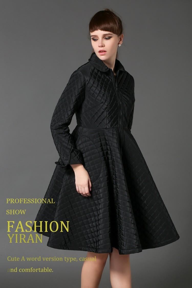 Женские пуховики, Куртки line Slim k578