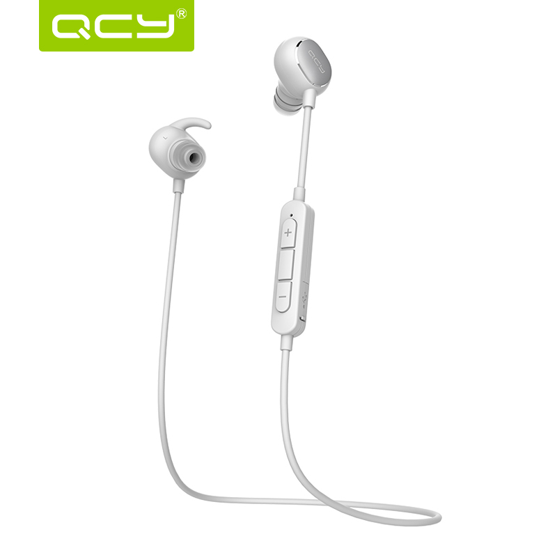 QCY QY12 Bluetooth Headphone Wireless Earphone For Xiaomi In Ear Sport Headset with Magnet Adsorption Headsfree for iPhone(China (Mainland))
