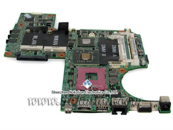 Laptop Motherboard For DELL XPS M1330 Intel DDR2 With NVIDIA Video Card PU073 K984J P083J Mother Board(China (Mainland))