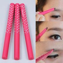 New 2015 Waterproof Dark Brown automatic Eyebrow Pencil Eye Brow Liner Powder Shapper Makeup Tool brow pencil