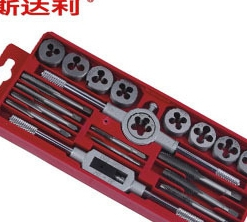 Hand tap wrench 20 sets of die cutter hand hand tap wrench tap wrench rack Lee
