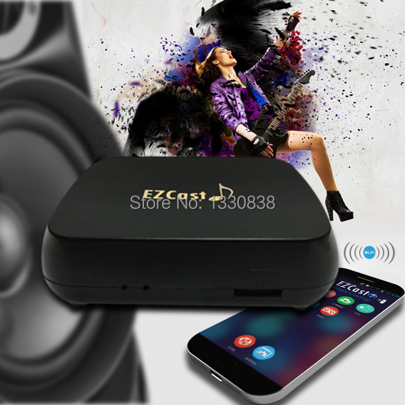 Free shipping HOT Wifi Wireless Music Share Streamer for Android iPhone Windows ME3L(China (Mainland))