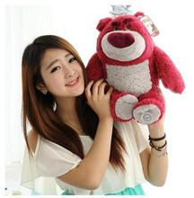 The original toys teddy bears 40cm Super Meng and creative play plush toy bear incense Strawberry Child gifts free door
