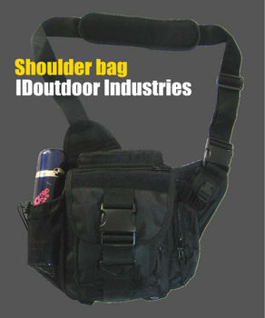 Combat shoulder bag, saddle package Messenger Bag Military Travelling 1680D Nylon  MOLLE outdoor