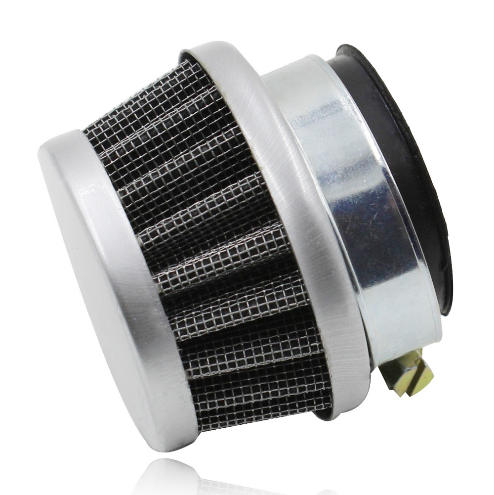New Universal Motorcycle Motorbike Replacement Clamp on Air Filter Cleaner For 50cc 70cc 90cc 110cc ATV Dirt Super Bike Go Kart(China (Mainland))